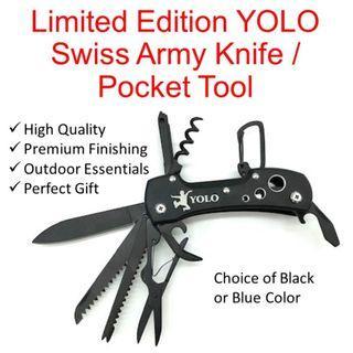 🚚 Limited Edition YOLO Swiss Army Knife / Pocket Tool