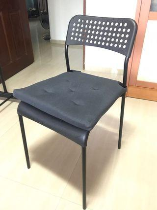 Ikea chair with cushion