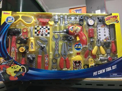 Mickey and the Roadster Racers Pit Crew Tool Set - 50 pieces