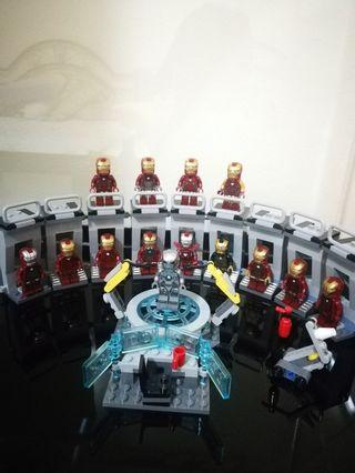 Lego iron man MCU completed armor suit