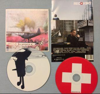 Gorillaz & Eminem The Recovery (take all) original CD