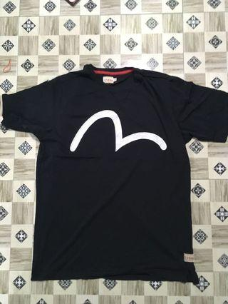 EVISU CUSTOM MADE T SHIRT