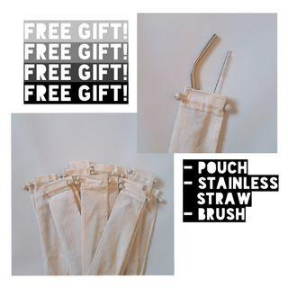 Stainless Straw - FREE GIFT