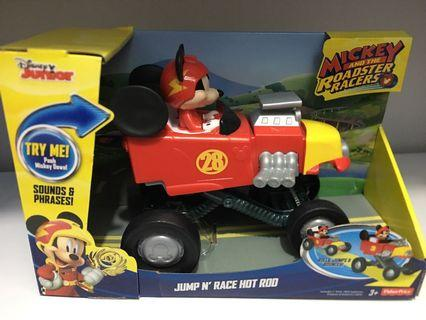 🚚 Mickey and the roadster racers Jump 'N' Race Hot Rod