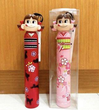 降!全新✨不二家Peko牛奶娃娃雨傘