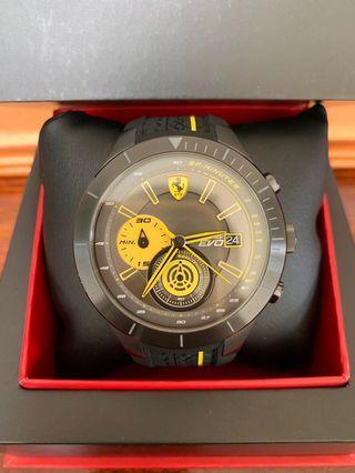 🚚 法拉利 Red rev Evo 賽車錶 型號:830342