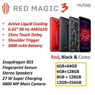 Red Magic 3 Gaming Phone by Nubia