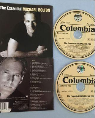 The Essential MICHAEL BOLTON (2cds take all)
