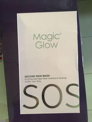 S.O.S Magic Glow Pink Mask