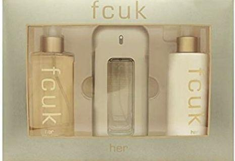FCUK for her perfume set