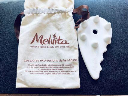 Melvita 陶瓷頭皮按摩板 ceramic scalp massage board