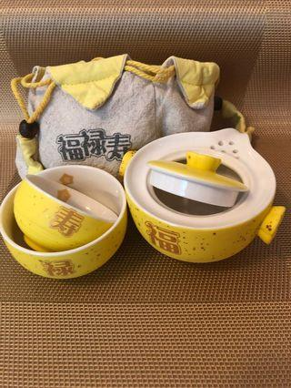 Chinese 3-in-1 tea set