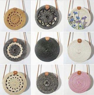 🚚 Bali rattan bag *NEW* 2019 designs