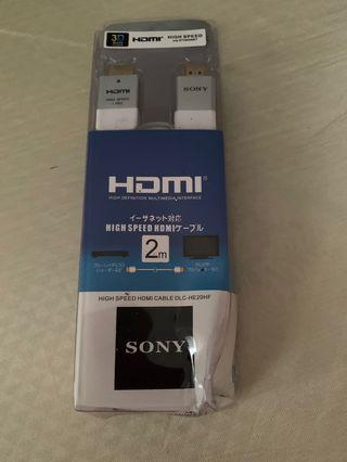 🚚 HDMI Cable Sony