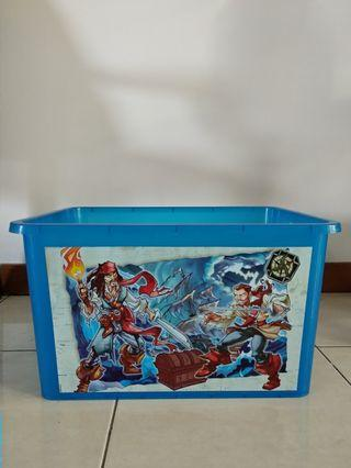 Container toy box mainan