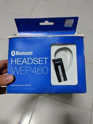 Samsung Bluetooth Headset WEP-460