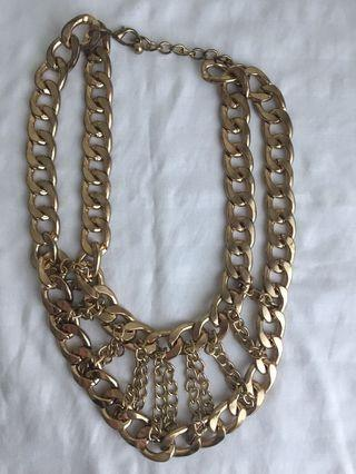 🌟[FREE] Chunky Gold Necklace