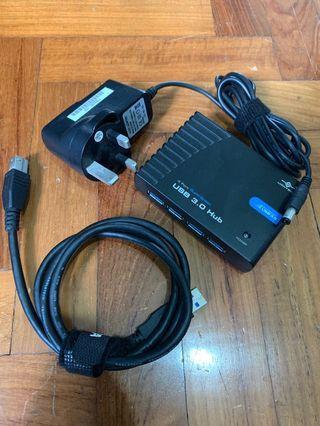 Vantec USB 3.0 4 Port Hub