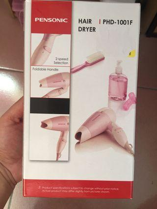 Pensonic hair dryer