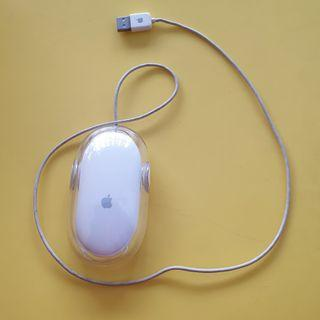 Apple USB Wired Mouse A5769 Old Version Tested Working White