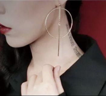 耳環 (銀色)