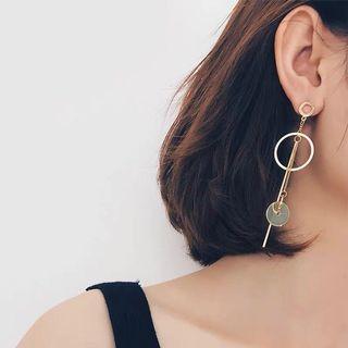 耳環 (金色)