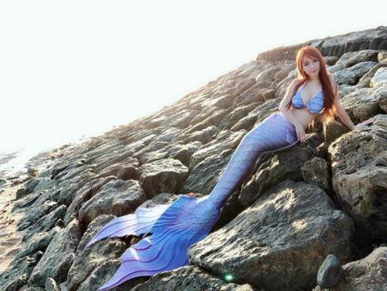 Mermaid tail merfin