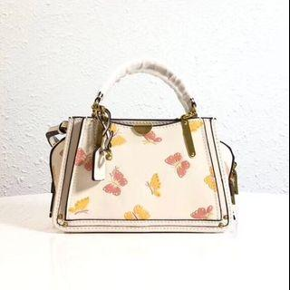 Coach Dreamer 21 with Butterfly print