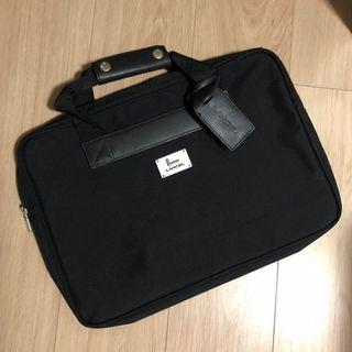 LANCEL briefcase 男仕黑色手提公事包