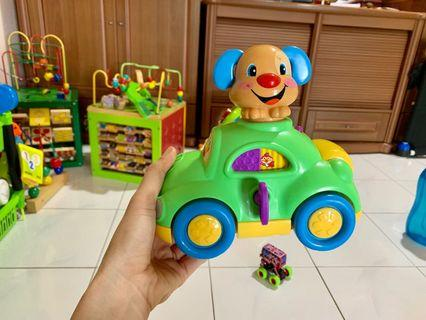 Fisher price musical toy car