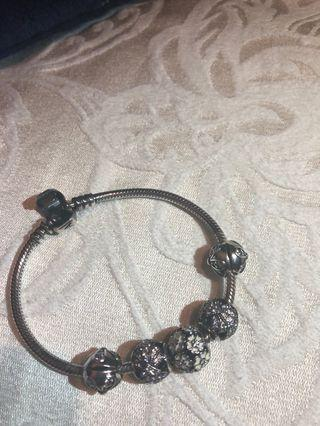 Pandora Bracelet w/ charms