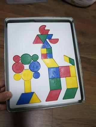 Tangram Educational game Mighty mind