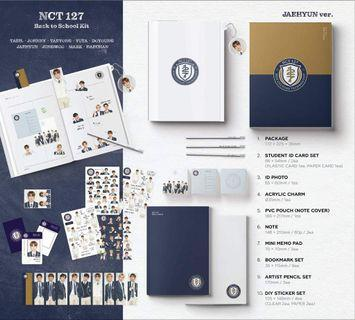 [PREORDER] NCT 127 'BACK TO SCHOOL KIT'