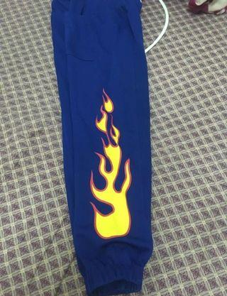 Flames jogger pants