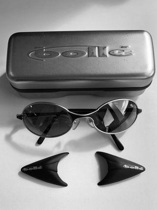 Rare Bolle sunglasses w side shields. Made in France