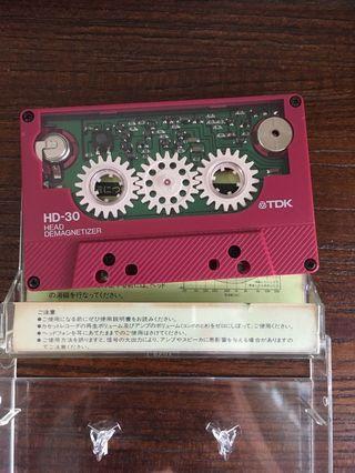 TDK-HD30 卡帶 消磁帶