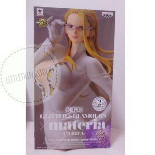 全新日版金證 Banpresto ONE PIECE: Glitter and Glamour x Materia -Carifa-  卡莉法海賊王 景品 Figure(白色款)