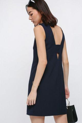 LB Dylatte Cutout Back Dress