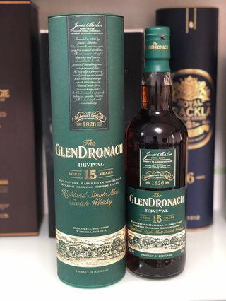 Glendronach 15 (Old Revival)