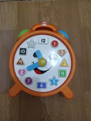 Fisher price laugh learn counting colors clock