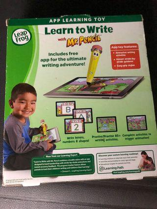 Leap Frog -  Learn to write with Mr Pencil
