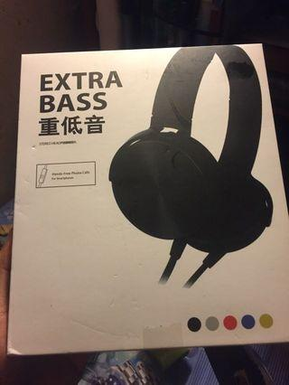 Extra bass wired headphones