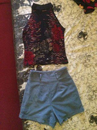 1set top&celana pendek