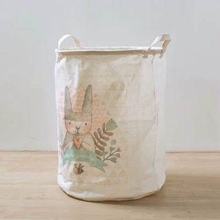 🚚 Bunny Foldable Laundry Basket