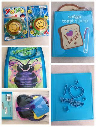 🚚 Yo-yo, yoyo, lantern kit, smiggle toast stamp