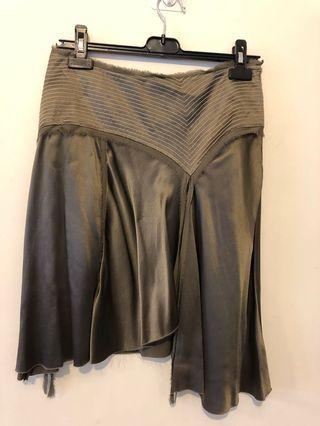 Authentic Diane von Furstenberg silk skirt UK10