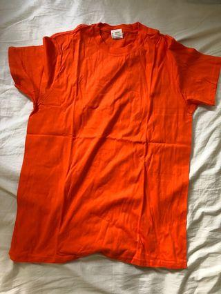 Brandless orange t shirt