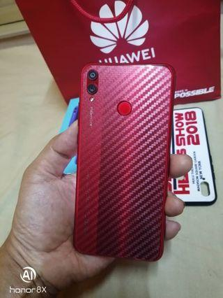 Honor 8x Red Limited Edition Fullset Box Like New