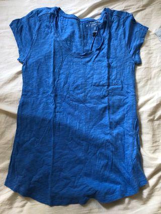 Brandless blue t shirt