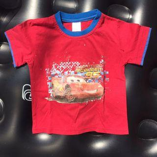 Cars McQueen Red T Shirt